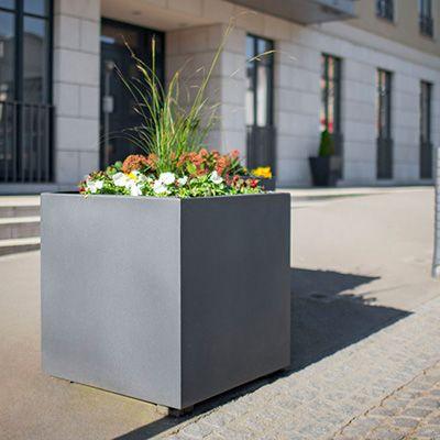 Vedligeholdelsesfri PLANTER plantekasse i aluminium
