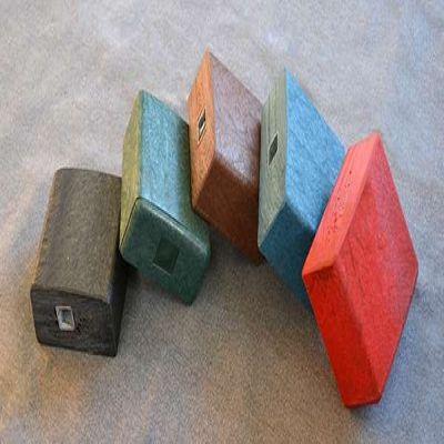 ROBUST non wood plastplanke med stålarmering til udemøbler