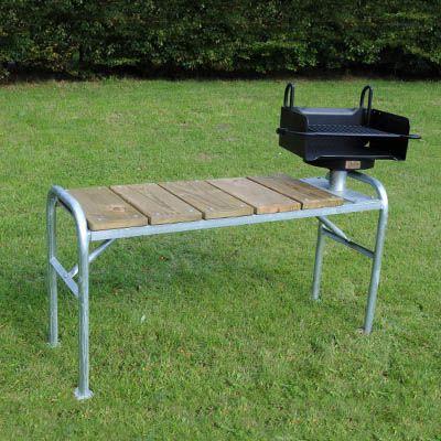 ROBUST anretterbord til have og park grill
