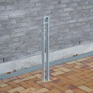 Cykelstander og cykelpullert i galvaniseret stål