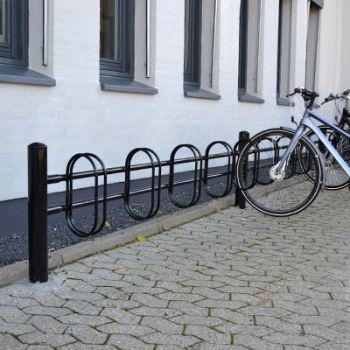 Dyrenes Beskyttelse - cykelstativer til væg og søjlemontering