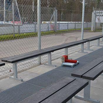 Odense stadion - vedligeholdelsesfrie plinte