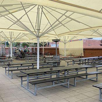 Skagen Bryghus - vedligeholdelsesfrie bordbænkesæt